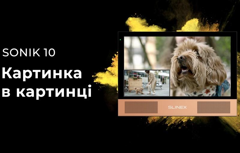«Картинка в картинці» – контролюйте все, що відбувається біля вашого будинку з Sonik 10